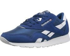 Reebok Classic Nylon Blue/White Men's Shoes Sneakers Size 9