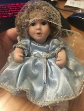 December Birthstone Angel Collection Porcelain Doll