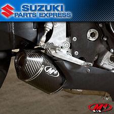 2006 2007 GSXR GSX-R 600 M4 EXHAUST CARBON STREET SLAYER SLIP ON MUFFLER SU6824