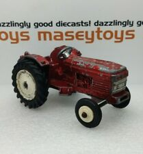 DINKY Toys No 308  Leyland Tractor    rare metallic red Original Vintage Diecast