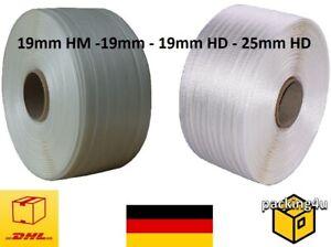 Umreifungsband 19mm gewebt Kraftband 25mm 19mm HD Umreifung Textilband verleimt
