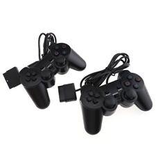 JOYSTICK CON FILO COMPATIBILE PS2 PLAYSTATION 2 JOYPAD CONTROLLER KIT 2 PEZZI