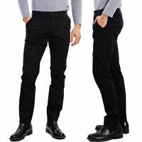 Pantaloni uomo chino regular fit tasche casual taglie forti TOOCOOL H935-1
