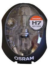 OSRAM Autolampen Ersatzbox Box PKW H7 Mini Lampe Auto Ersatzkasten 9tlg CLKM
