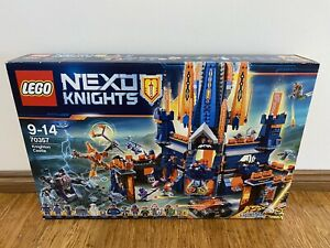 Lego 70357 Nexo Knights Knighton Castle New Sealed Retired Rare Building Model