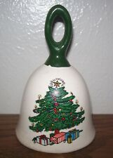 Vintage Collectible Ceramic Bell Christmas Tree - Estate Find!