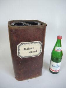 Apothekerdose Pappe Bakelit Aufbewahrung um 1900