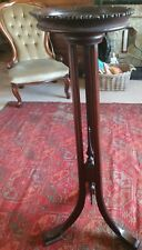 antique early 19thc torchere stand mahogany