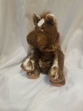 """Mary Meyer Sweet Rascals Sweet Horatio Brown and White Horse Plush 9"""" 2002"""