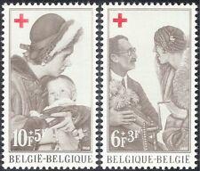 Belgium 1968 Red Cross/Royalty/Medical/Health/Welfare/Doctors/Children 2v n33741