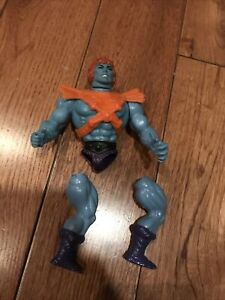 VINTAGE 1981 HE-MAN BLUE FACE FAKER SOFT HEAD