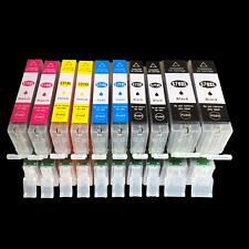 10 Drucker Patrone für Canon PIXMA TS 5050  TS 5051  TS 5053 TS 5055 TS6050 6051