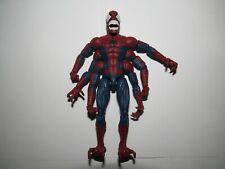 "Marvel Legends 6"" scale figure Doppleganger Spiderman Molten complete excellent"