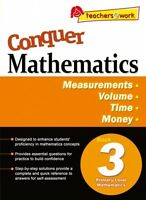 Conquer Mathematics Book 3: Measurements, Volume, Time, Money