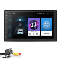 """Android 9.0 7"""" 2DIN HD Car Stereo NO DVD Radio Player GPS 4G WIFI BT+ Camera"""