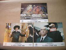 """LOT 3 PHOTOS DU FILM """"LES AVENTURES DE RABBI JACOB"""" / DE FUNES / 5 / TRES B ETAT"""
