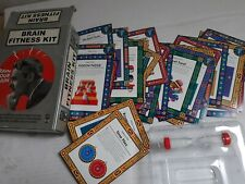 BRAIN FITNESS KIT &  IQ Logic Puzzle Game COMBO 108 Cards Complete + Timer
