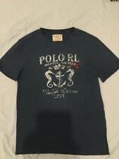 Polo Ralph Lauren - Tshirt - Institut Nautique - Blue - Medium - New