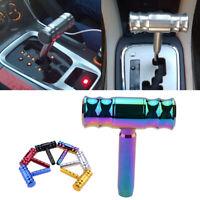 Racing Shift Knob Aircraft Joystick T-Handle Hammer Gear Stick Knob  Neo Chrome