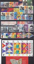 jaargang 1993 postfris (MNH) met blokjes