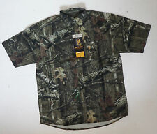 BROWNING camo hunting shooting shirt NEW  mens Large L MOINF wasatch lite SS