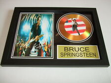 BRUSE SPRINGSTEEN  SIGNED  GOLD CD  DISC  1