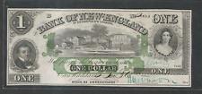 1860's $1 & $2 & $ 5 Connecticut East Haddam Bank of New  England Goodspeed's