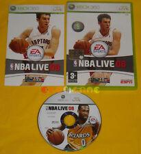 NBA LIVE 08 XBOX 360 Versione Ufficiale Italiana »»»»» COMPLETO