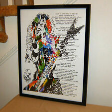 Dimebag Darrell, Pantera, Guitar Player, Cowboys from Hell, 18x24 POSTER w/COA