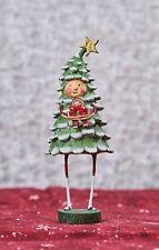 Lori Mitchell™ - Bruce Spruce -  Christmas Tree Boy Figurine Gingerbread - 94054