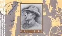Australian 1993 1st&Last $10 Folder Blue F&E Polymer & F&C Paper Banknote Issues