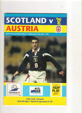 Scotland Home Teams S-Z Football Programmes