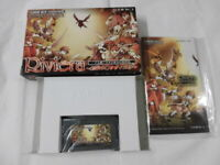 Y2463 Nintendo Gameboy Advance Riviera Japan GBA w/box