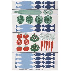 Almedahls Tea Towel-Torgkasse(=Market), Designer Kitchen Towel  アルメダールス