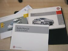 VAUXHALL ASTRA OWNERS MANUAL HANDBOOK  2004-2010  INC WALLET AND AUDIO30 TWINTOP