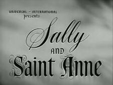 SALLY AND SAINT ANNE (1952) DVD ANN BLYTH, EDMUND GWENN