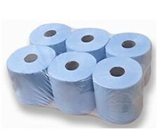 Blue Centrefeed Roll 2 Ply Pack Of 6 FREE NEXT DAY DELIVERY