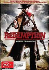 REDEMPTION - CLASSIC WESTERN - NEW REGION 4 DVD FREE LOCAL POST
