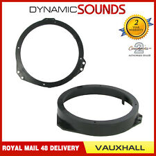 CT25VX01 165mm Front Door Speaker Adaptor Kit Rings For Vauxhall Calibra 1990-97