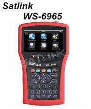 SATLINK WS-6965 HD DVB-T DVB-T2 Spectrum Analyzer Mpe4 H.264 Meter Signal Finder