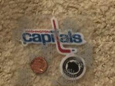 "Washington Capitals 3"" Lextra Patch 1974-1995 Primary Logo Hockey"