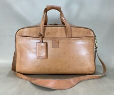 "Hartmann Belting Leather Luggage 21"" Carry-On Duffle Weekender Bag $895"