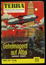Terra-- Utopische Romane -- Science Fiction -- Band 226 -- Romanheft -- Moewig-