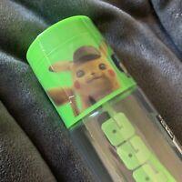 Detective Pikachu Pokemon 7-11 Eleven Slurpee Cup Tumbler W Straw Neon Orange
