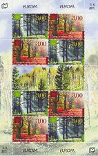 EUROPA CEPT 2011 DER WALD FOREST - BOSNIEN KROATISCH MOSTAR 311-12 KLEINBOGEN **