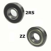 10x Roulement à billes Palier 624-6205 2RS ou ZZ roulements à billes miniatures