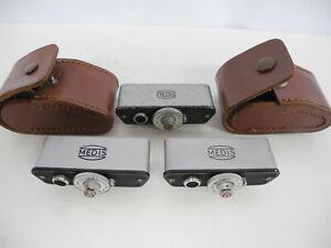 Three Medis Hot Shoe Rangefinders Made in Germany WORKING!