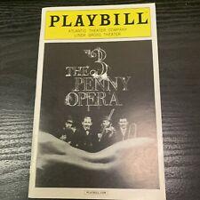 THREE PENNY OPERA April 2014 Off Broadway Playbill! F MURRAY ABRAHAM Laura Osnes