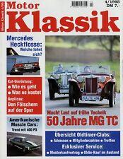 Motor Klassik 4/95 1995 Volvo Amazon MG TC Dodge Challenger Oldsmobile 442 Camar