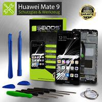 LCD Display für Original Huawei Mate 9 Komplettes Touchscreen Schwarz + Rahmen